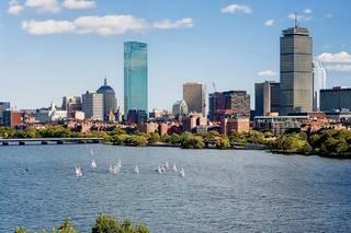 Hyatt Regency Cambridge, Overlooking Boston