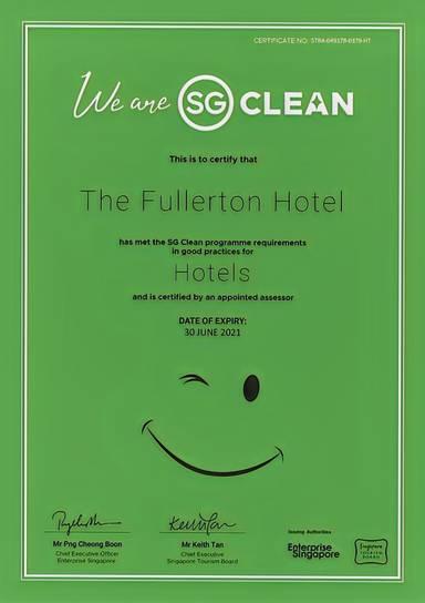 The Fullerton Hotel Singapore (SG Clean)