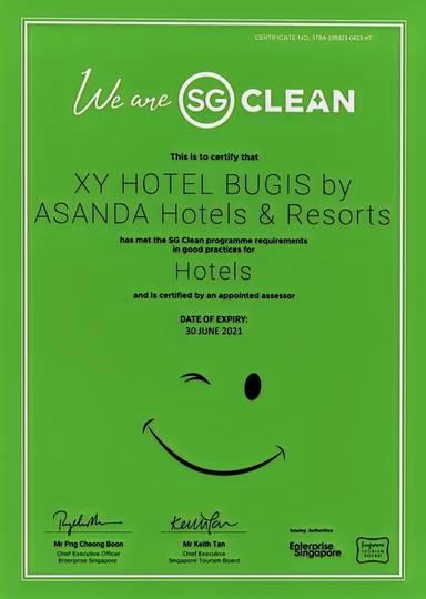 XY Hotel Bugis by Asanda Hotels and Resorts (SG Clean)