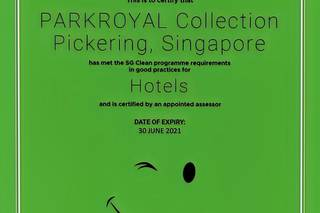 PARKROYAL COLLECTION Pickering, Singapore (SG Clean)