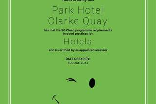 Park Hotel Clarke Quay (SG Clean)