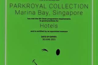 PARKROYAL COLLECTION Marina Bay (SG Clean)