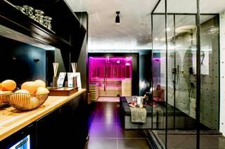 Chambre Jacuzzi & Sauna Privatif Hôtel Esperance
