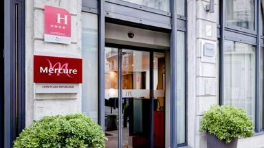 Hôtel Mercure Lyon Centre Plaza République